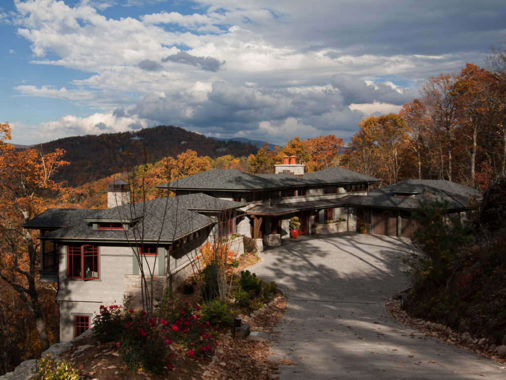 Cliffside House Asheville Residential Architecture