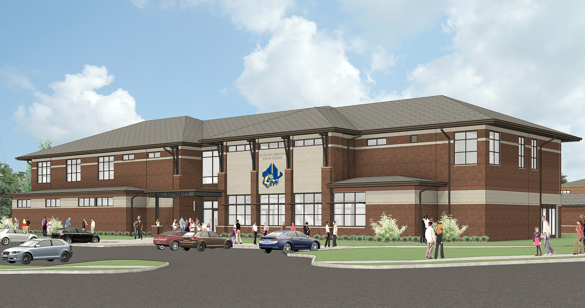 MHU Field House Renderings, Legerton Architecture