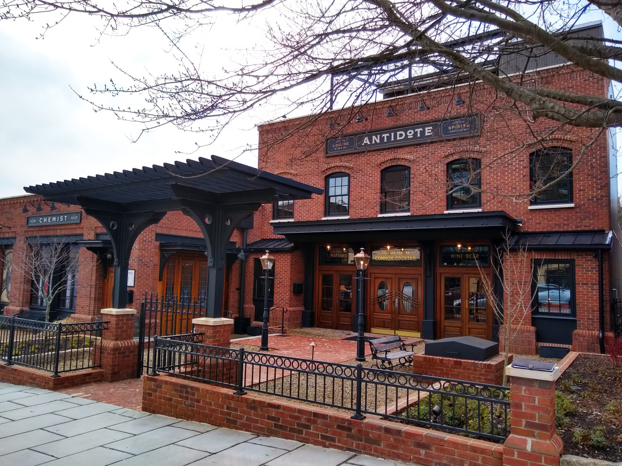 The Antidote Asheville Commercial Architecture