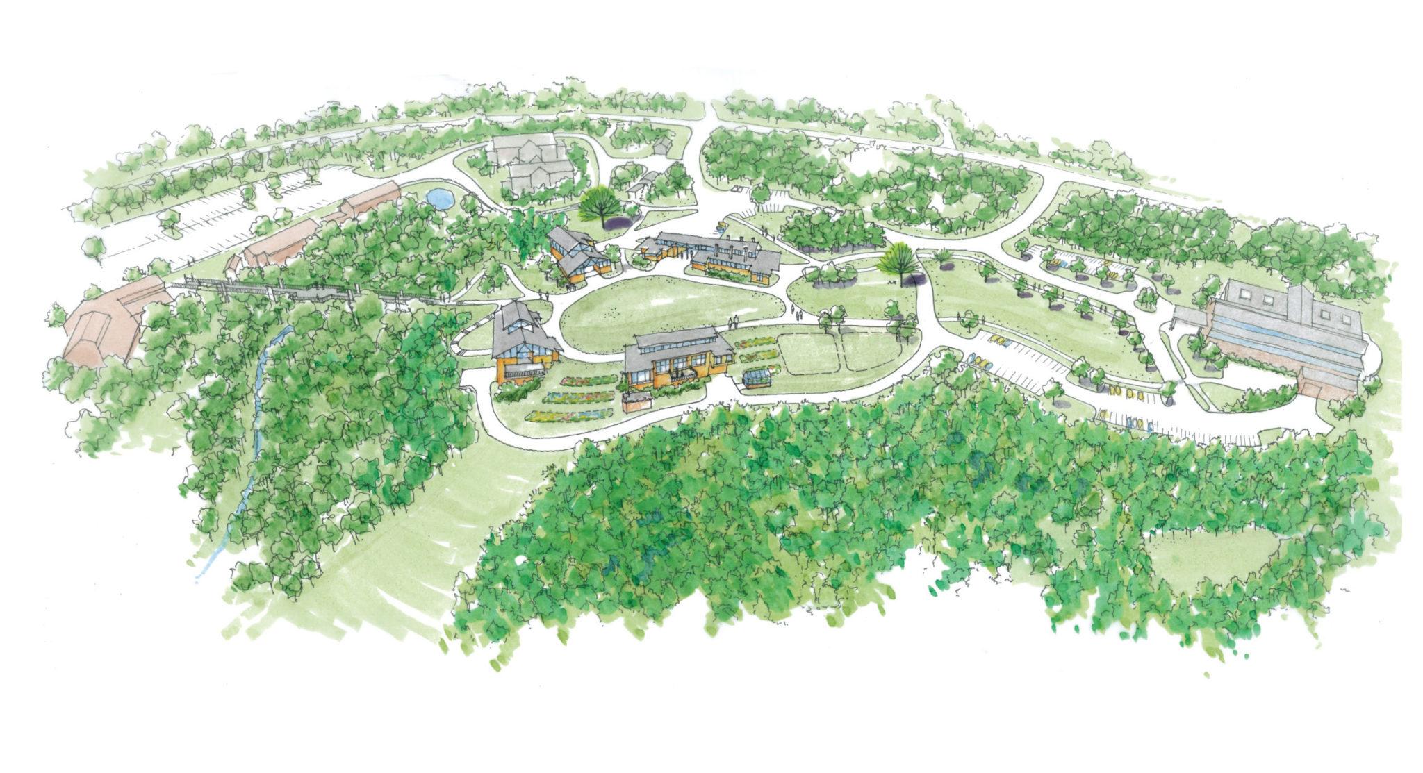 Warrren Wilson College Craft-Village-VISION