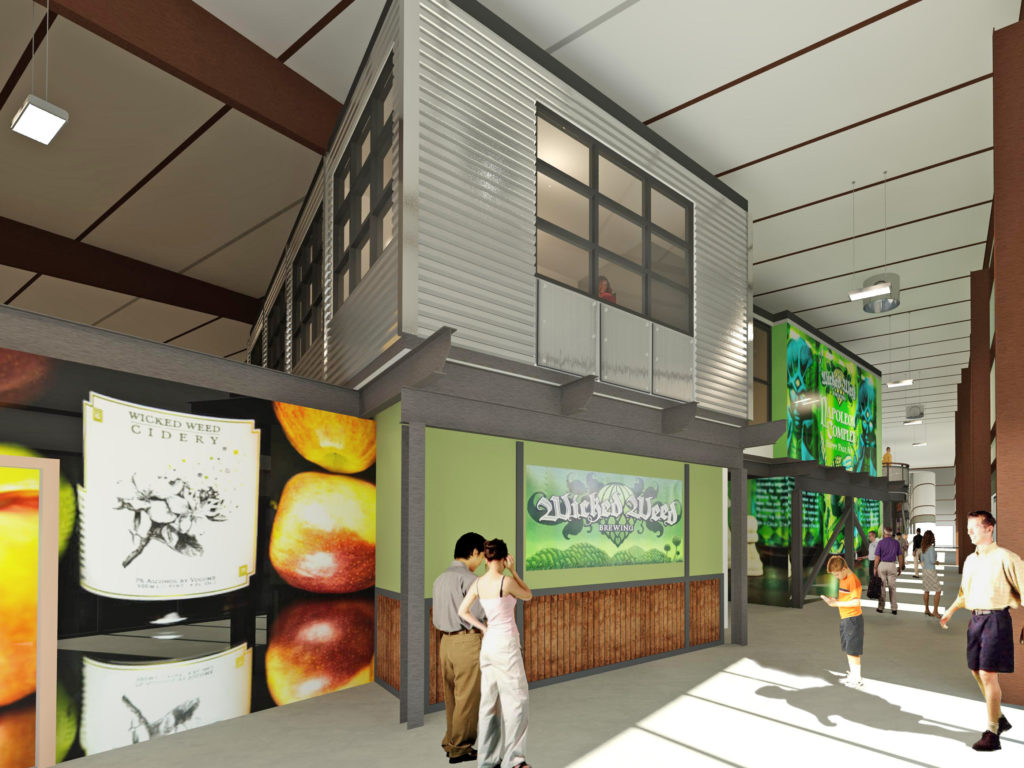 Wicked Weed Production Facility Commercial Design